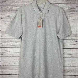 Men's Gray Polo shirt XXL